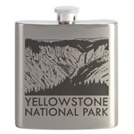 Yellowstone National Park Flask
