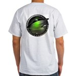 Official UFO Hunter Ash Grey T-Shirt