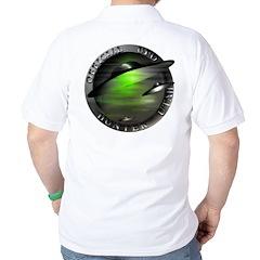 Official UFO Hunter Golf Shirt