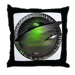 Official UFO Hunter Throw Pillow