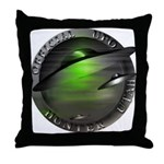 Official UFO Hunter Throw Pillow