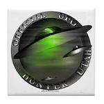 Official UFO Hunter Tile Coaster