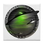 Official UFO Hunter Tile Coaster