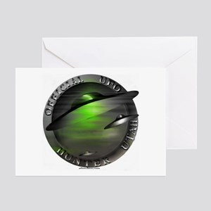 Official UFO Hunter Greeting Cards (Pk of 10)
