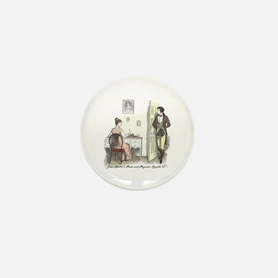 Pride & Prejudice Ch 32 Mini Button