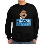 Obama-style CHANGE Sweatshirt (dark)