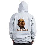"""anti-Obama """"Baggage"""" Zip Hoodie"""