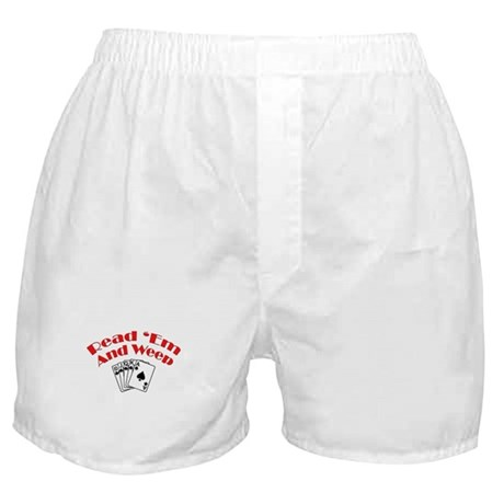 Read Em and Weep! Boxer Shorts
