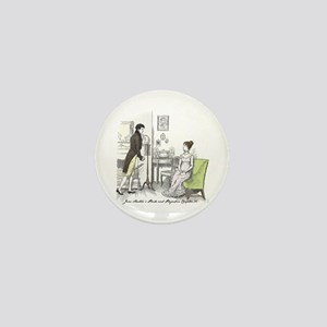 Pride & Prejudice Ch 34 Mini Button