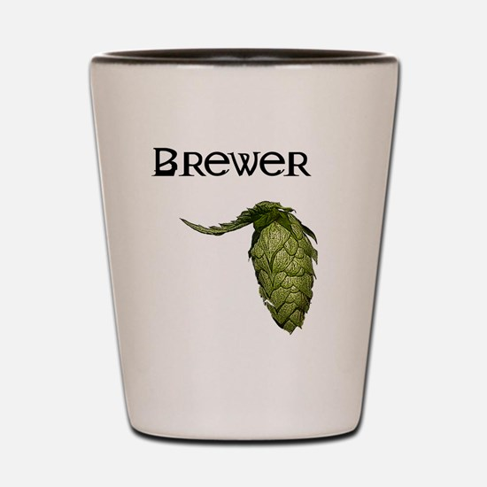 Unique Brewing beer Shot Glass