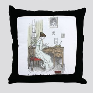 Pride & Prejudice Ch 34a Throw Pillow