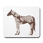 brown horse Mousepad