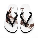 brown horse Flip Flops