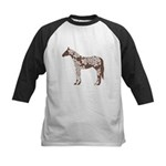 brown horse Baseball Jersey