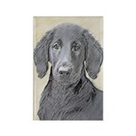 Flat-Coated Retriever Rectangle Magnet (100 pack)