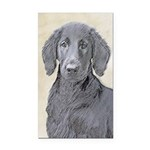 Flat-Coated Retriever Rectangle Car Magnet