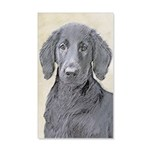 Flat-Coated Retriever 20x12 Wall Decal