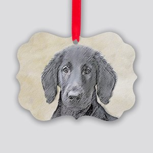Flat-Coated Retriever Picture Ornament