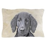 Flat-Coated Retriever Pillow Case
