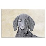 Flat-Coated Retriever Large Poster