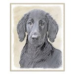 Flat-Coated Retriever Small Poster