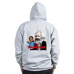 Reject Obammunism anti-Obama Zip Hoodie