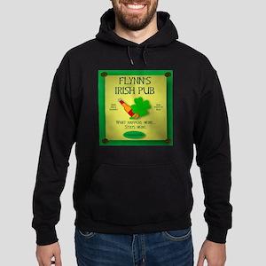 IRISH PUB PERSONALIZED Hoodie (dark)