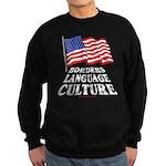 Borders Language Culture Sweatshirt (dark)