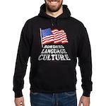 Borders Language Culture Hoodie (dark)