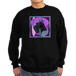 Giant Schnauzer Design Sweatshirt (dark)