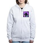 Giant Schnauzer Design Women's Zip Hoodie