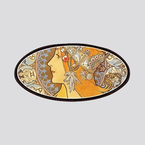 Alphonse Mucha Zodiac Woman Art Nouveau Patch