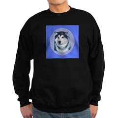 Alaskan Malamute Show dog Sweatshirt (dark)