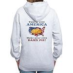 American Pie anti-socialist Women's Zip Hoodie