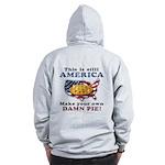American Pie anti-socialist Zip Hoodie