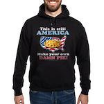 American Pie anti-socialist Hoodie (dark)