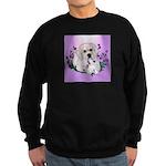 Great Pyranees Pup Sweatshirt (dark)