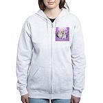 Great Pyranees Pup Women's Zip Hoodie