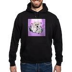 Great Pyranees Pup Hoodie (dark)