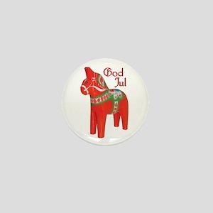 God Jul Dala Mini Button