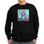 Bulldog Mother Hubbard Sweatshirt (dark)