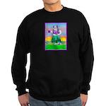 Hula Bulldog Sweatshirt (dark)