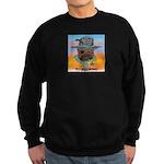 Sherriff bulldog Sweatshirt (dark)
