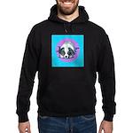 Australian Shepherd Puppy Hoodie (dark)