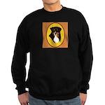 Australian Shepherd design Sweatshirt (dark)