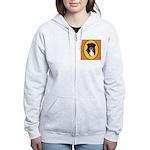 Australian Shepherd design Women's Zip Hoodie