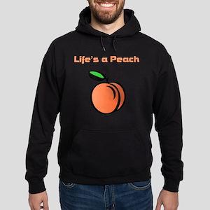 Life's A Peach Hoodie (dark)