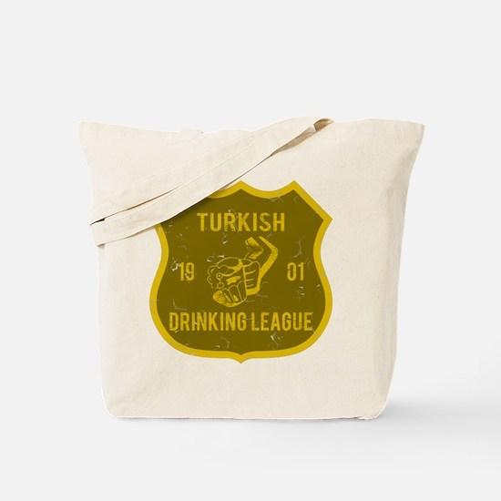 Turkish Drinking League Tote Bag