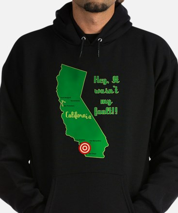 California Earthquake Hoodie (dark)