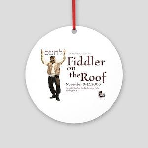 Lyric Fiddler '06 Ornament (Round)